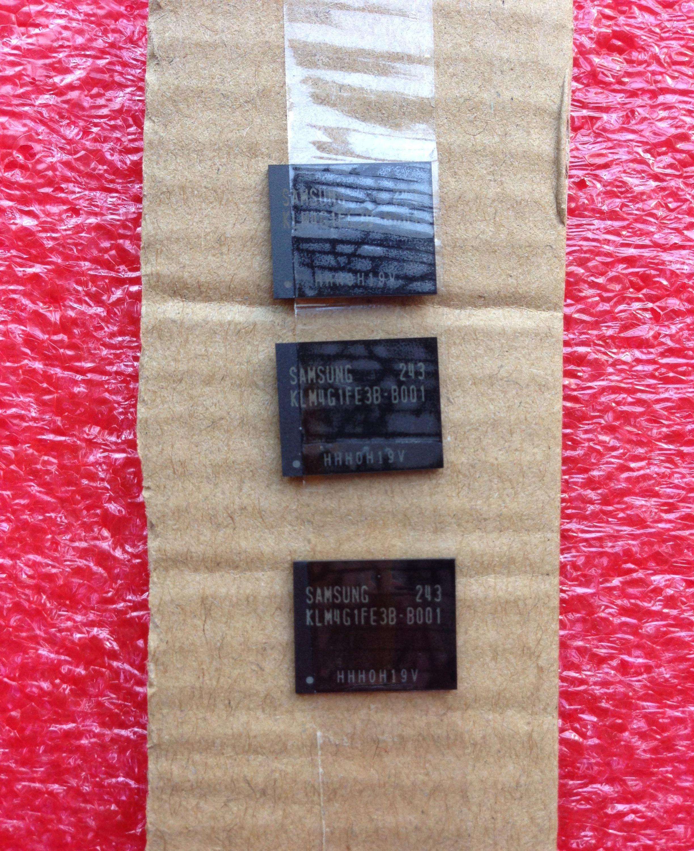 KLM8G2FE3B-B001  FBGA-153 Integrated Circuit