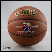 Outdoor Training Sweat Absorb leather Basketball Balls