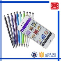 2016 promotional Touch Screen Metal Stylus Ball Pens