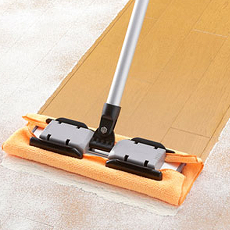 Brights Extendable Microfibre Mop Cleaner Sweeper For Wooden