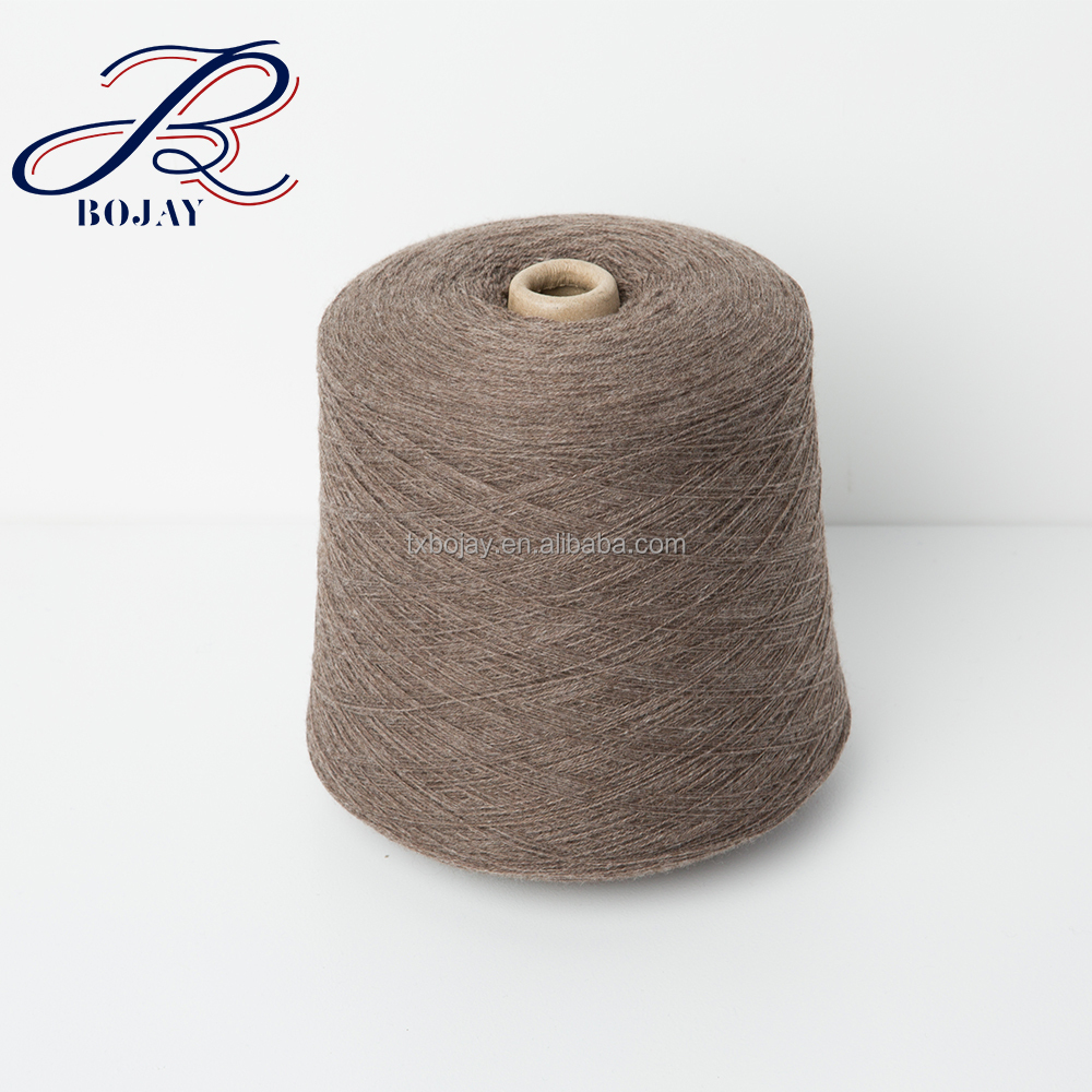 100% Linen Yarn, 10.5 Nm/1 Flax yarn semi-bleahced, short fiber for knitting linen fabric