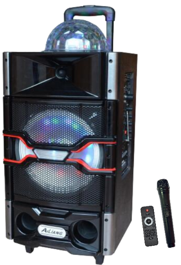 portable bluetooth speakers on wheels. 10 inch hottest active type usbfm 103dk portable trolley bluetooth speakers with wheels on r