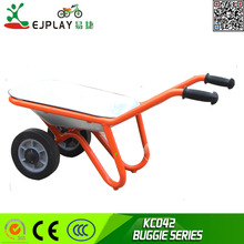 Smart China wholesale manual children tricycle trolley to carry goods