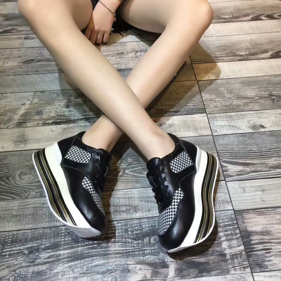 women's lace mesh breathable casual up wild Thick bottom 2018 new shoes qHFAgExWn8