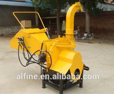CE approved tractor mounted 8 inch wood chipper