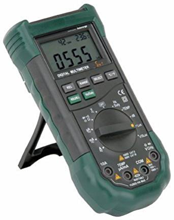 Cen-Tech 14 Function Professional Digital Multimeter with Sound Level and Luminosity