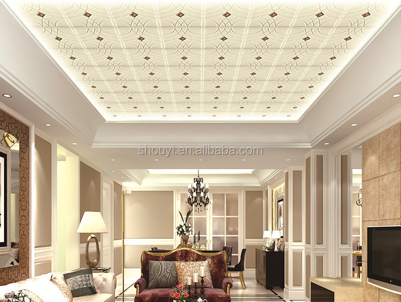 3d soft leather wall panels and ceiling papers sandwish for 3d ceiling paper