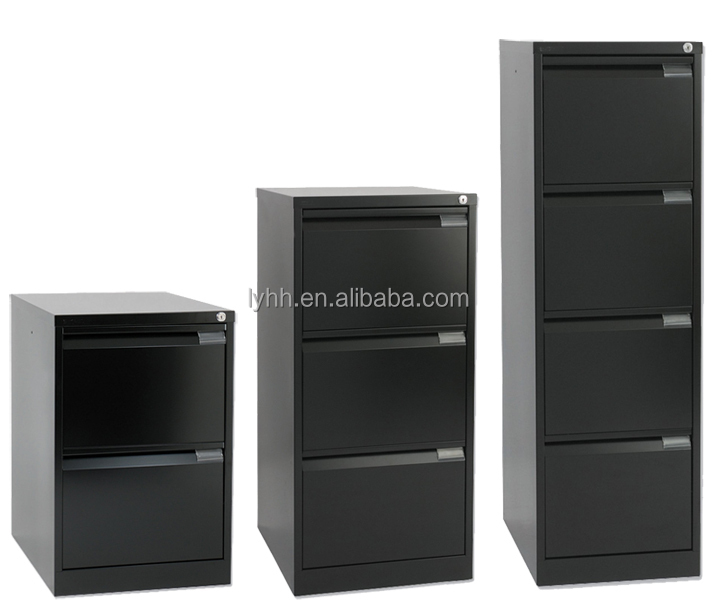 Classic American Standard Office Furniture 3 Drawer Steel Filing Cabinets  Mobility Metal Folder Archive Document Cabinet