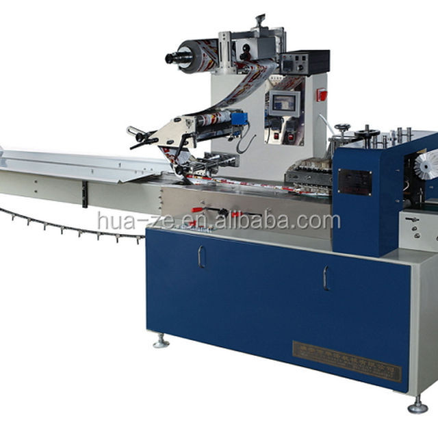 Stapler pillow packaging machine, Automatic wrapping machine