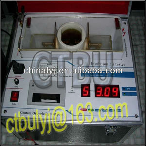 Dielectric strength test kit with digital measuring instrument