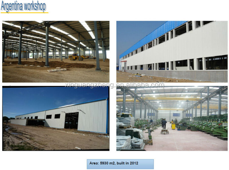 prefabricated light steel workshop in saudi Arabia for sale