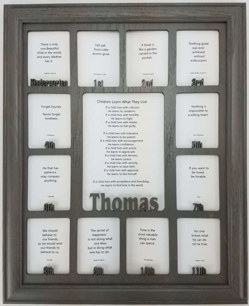Buy School Years Picture Frame - Personalized Picture Frame with any ...