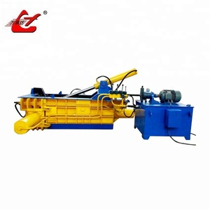 Hydraulic horizontal recycling waste hms scrap metal chips aluminum shavings balers