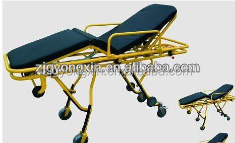 medical ambulance service professional used ambulance stretcher