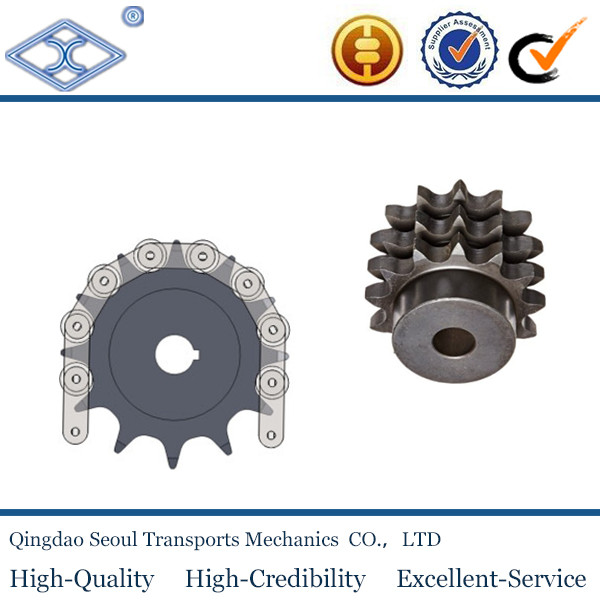 06C-1 ISO ANSI standard ASA 25 35 3/8''*3/16 pitch 9.525 roller 5.08 8T 45C transmission hard teeth sprocket for roller chain