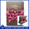Skull Design Rotating Tablet Case For iPad Air