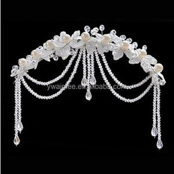 2014 Fashionhair Accessories Arab Weddingsbridal Tiara Wedding Hair Crownindian Wedding Accessories