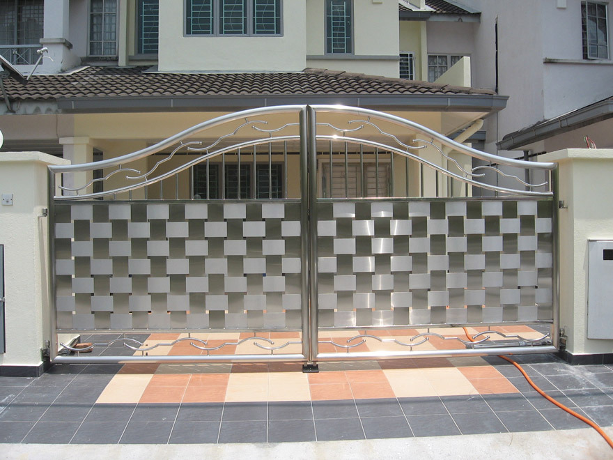 Simple Steel Gate Design Home Design Ideas