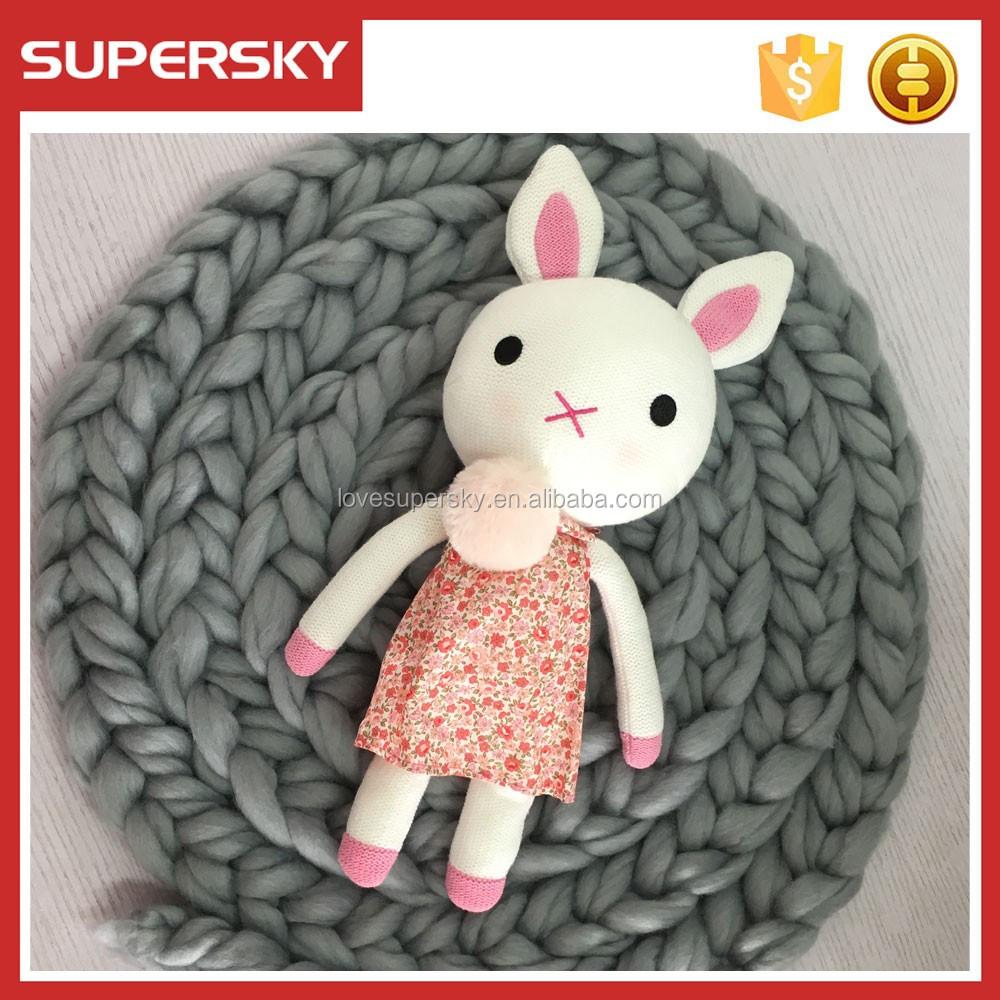 CROCHET PATTERN Bunny plush toy - Amigurumi pattern rabbit ... | 1000x1000