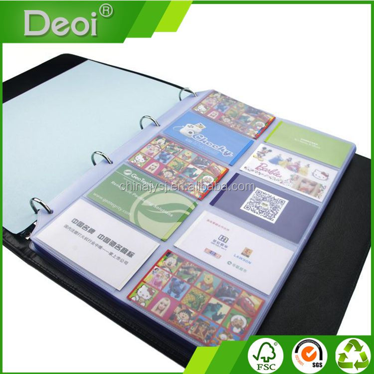 Custom A4 Size Pp/ Pvc/ Leather Office Bulk Pockets Meeting Notebook ...