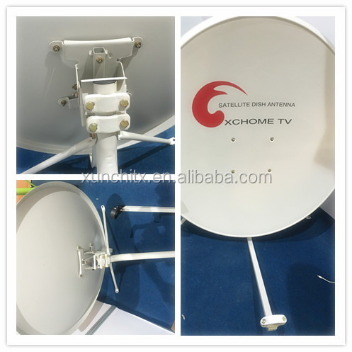 Ku Band 60cm Satellite Antenna Eurostar Best Dish Satellite Tv