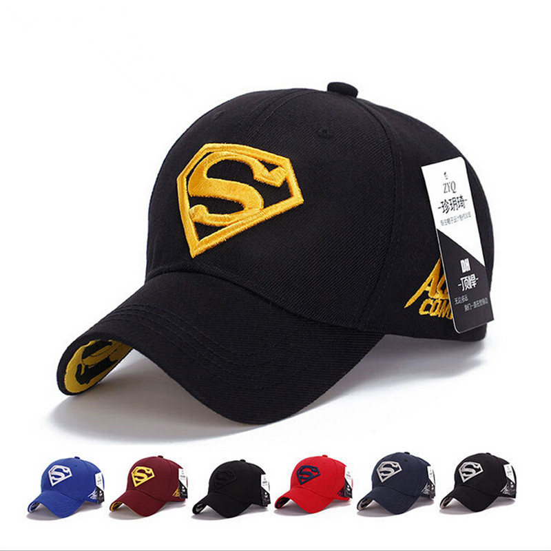 NEW Brand SUPERMAN Polo Snapback Mens Golf Baseball <strong>Caps</strong> Women Fitted Adjustable Hat Gorras Planas Casquette Chapeau Homme