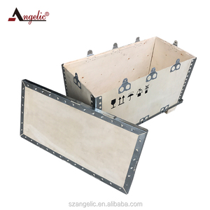 Angelic China Direct Sale Customized Wooden Shipping Boxes And Atv Crates