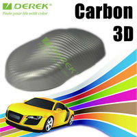 China import glue 3d carbon fiber vinyl for car body protection in size 1.52*30m