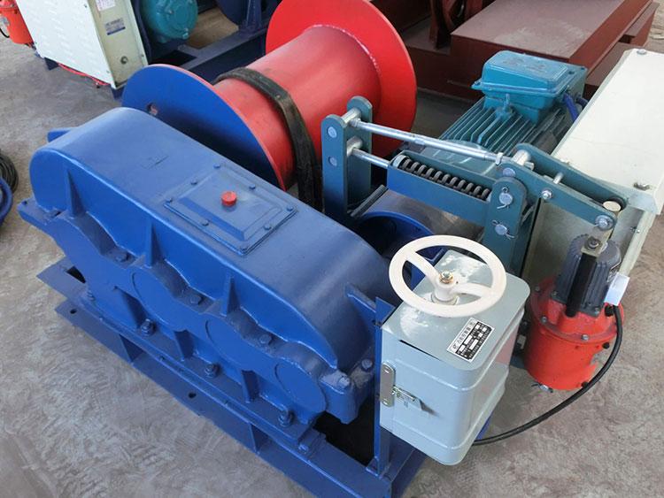 1000 kgs 케이블 당기는 기계 전기 윈치