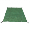 PE Woven Fabric Garden Rubbish Ground Sheet Bag With 4 Handle at The Corner of The edge.