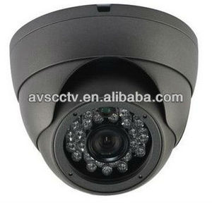 Vandal proof IR Dome 600TVL Analog Camera