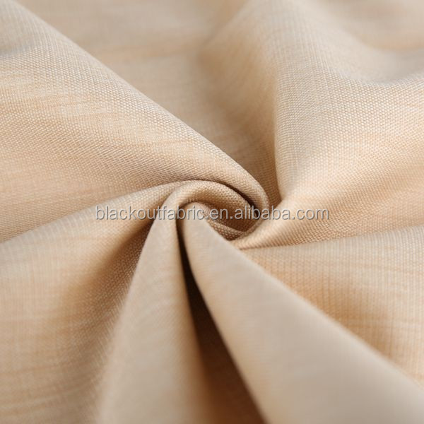 Two Tone Style Cationic Dyeing Face Fabric with Blackout Coating