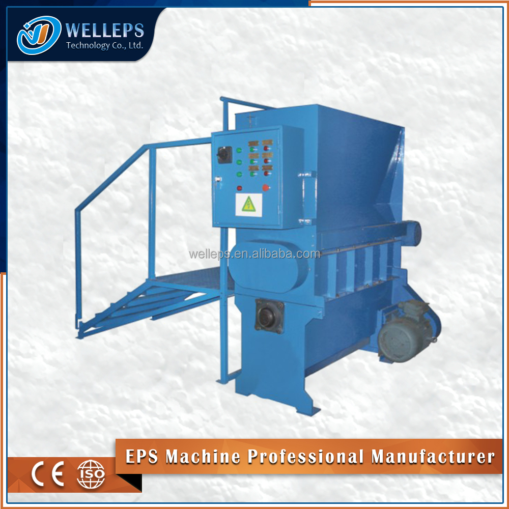 Plastic EPS foam recycling system/plastic recycling machine