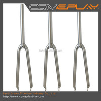 Comeplay Titanium alloy road bike fork 700c 650c