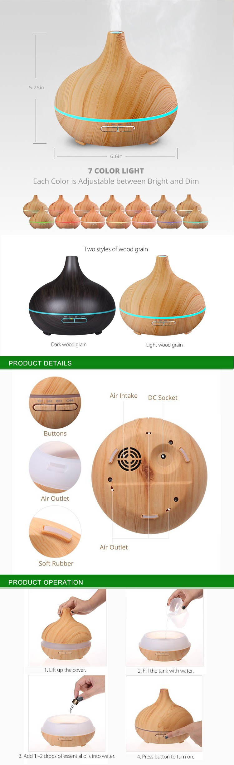 Aromacare Commercial Scent Machines Aroma Diffuser Car For Office Home Bedroom Living Room Study Yoga Spa