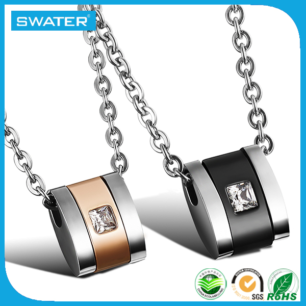 Alibaba China Wholesale Stainless Steel Empty Cup Chain Necklace