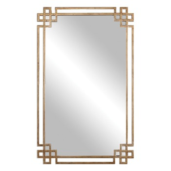 hot sales antique gold metal frame wall mirrorhome decoration