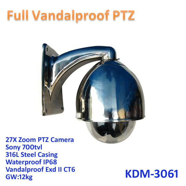 Full Vandalproof Exd Ii Ct6 Motion Detection Camera Dvr Ir Cctv ...