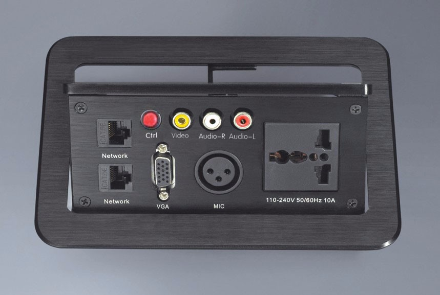 Office conference multimedia socket /hidden /HDMI USB cable Information outlet box/Desktop socket