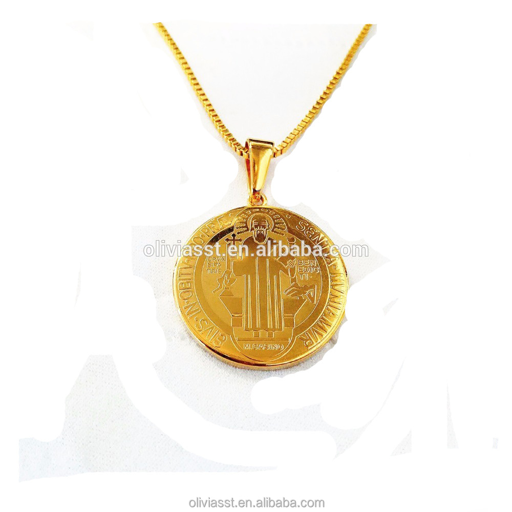 gold apple pendant simple Stainless Steel jewelry natural apple shape necklace creative cute pendant