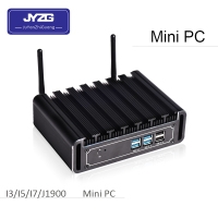 Ultra Low Power Thin Client Desktop Computer 1000 Ethernet Fanless Ubuntu Mini PC 12V core i5 5200u win10
