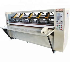 QH-Corrugated Cardboard Thin Blade Slitter Scorer/carton box making machine prices