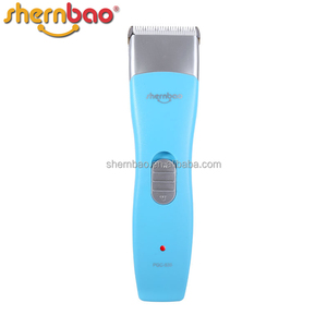 Shernbao PGC-535 new design animal hair grooming kit rechargeable pet hair clipper