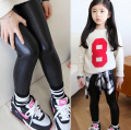 Free shipping 2015 new Winter Girls Leggings Super Thicken Warm Girl Pants kids Legging Children long