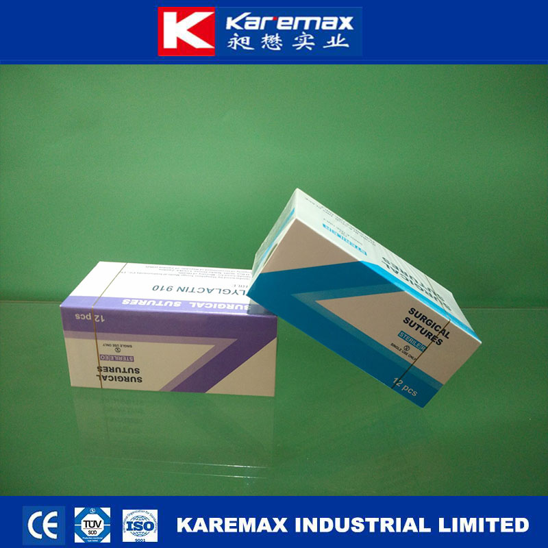 International Selling Chromic Sterile Suture pack with Curved Needle