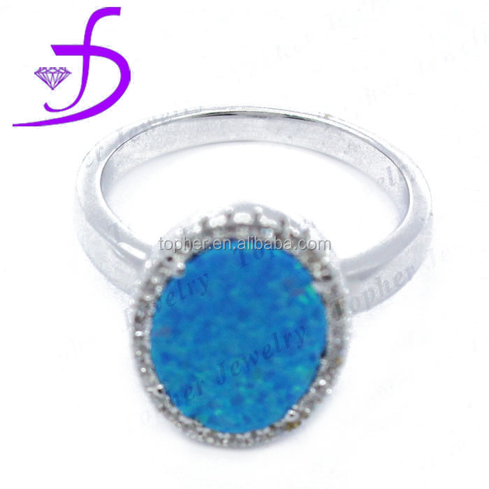 2016 Newest Fashionable Design 925 sterling silver ocean opal jewelry