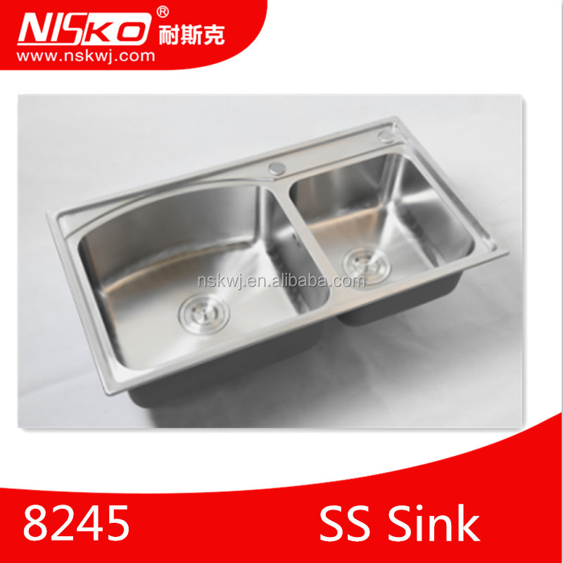 Kitchen Sink Prices In Dubai Stainless Steel Double Bowl Product On Alibaba