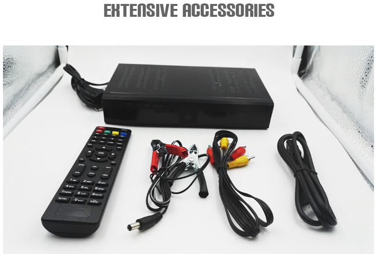 professional supplier for set top box hd combo dvb s2 dvb t2 satellite receiver for Ghana