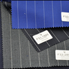 Stock suit fabric in polyester viscose
