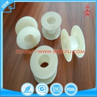 Moulded Small Empty Clear PP Plastic Spools For Wire